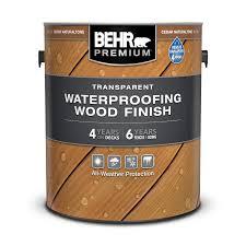 transpa waterproofing wood finish