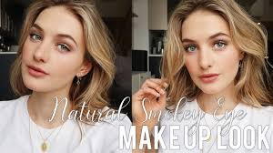 natural smokey eye makeup look chic
