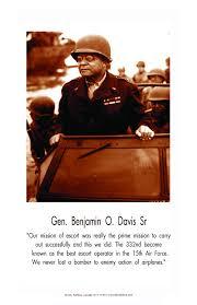 African American historical posters. General Benjamin O. Davis Sr ...