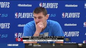Nikola Jokic Postgame Interview - Game 6 | Clippers vs Nuggets | September  13, 2020 NBA Playoffs - YouTube