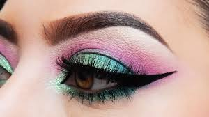 pink barbie cut crease makeup tutorial