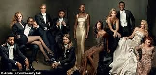 Julia Roberts steals the show on Idris Elba's lap for Vanity Fair ...