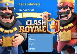 Fiesta Tematica Clash Royale