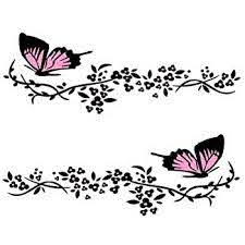 Amazon Com Practisol Car Decals For Women 1 Set Butterfly Flower Car Decal Stickers Vinyl Car Side Decal Car Hood Decals For Cars Suv Universal Scratch Hidden Car Sticker Pink Arts Crafts Sewing