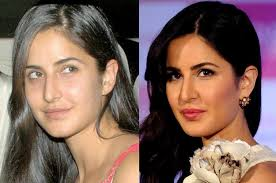 bollywood celebs with vs without makeup