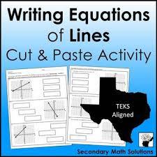 lines activity cut paste a2b a2c