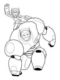 10 Best Big Hero 6 Coloring Pages Images Big Hero 6 Hero 6