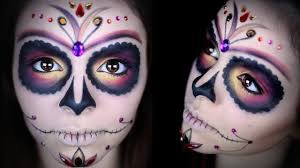 day of the dead makeup tutorial 12