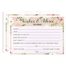 wedding advice and well wishes bridal