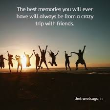 travel friends captions whatsapp status goa trip quotes