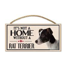 Rat Terrier Dog Magnets Stickers Signs Window Decals Crazy Novelty Guy