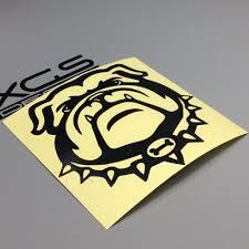 Xgs Decal Car Styling Vinyl Cut Decal Bull Dog 12 X 12 Cm High Quality Waterproof Outdoor Vinyl Sticker Vinyl Stickers Car Stylingdecals Car Aliexpress