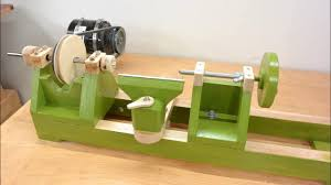 homemade wood lathe 9 steps with