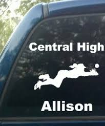 Personalized Softball Diving Catch Decal Decal Depot Net