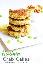 Crab Cakes with Corn Avocado Salsa ...