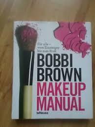 bobbi brown makeup manual ebay