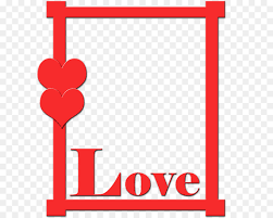 valentines day frame png 660
