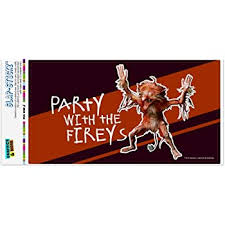 Amazon Com Graphics More Party With The Fireys Labyrinth Automotive Car Window Locker Bumper Sticker Furniture Decor