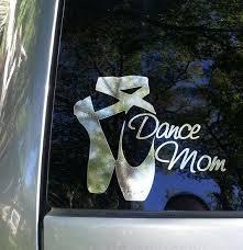 Dance Mom Car Window Decal Dance Moms Vinyl Decals Mom Car