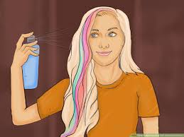 dye your hair with washable markers