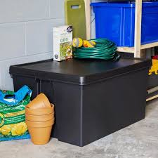 heavy duty plastic storage box with lid