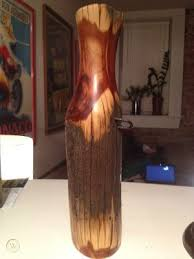 Cedar 100 Year Old Wood Fence Post Decorative Vase 400456919