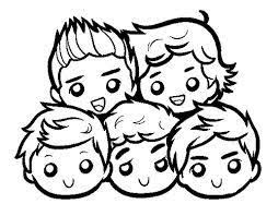 6 One Direction Cartoon Custom Sticker By Taggraphix On Etsy
