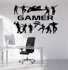 Personalized Name Gamer Wall Decal Video Games Wall Sticker Etsy Wall Sticker Wall Decals Wall