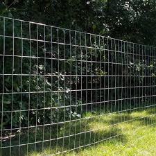 Everbilt 5 Ft X 50 Ft 14 Gauge Galvanized Steel Welded Wire Garden Fence 308303eb The Home Depot In 2020 Welded Wire Fence Dog Fence Wire Mesh Fence