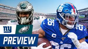 Giants vs. Eagles Week 17 Preview ...