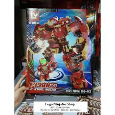 Bộ lắp ghép Lego siêu anh hùng Avengers Iron Man HulkBuster 650 ...
