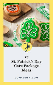 17 st patrick s day care package ideas