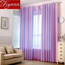 Colorful Striped Purple Curtain Kids Room Sheer Fabric Living Room Curtains Window Jacquard Voile Curtain Tulle Custom T 149 20 Curtain Cloth Room Windowvoile Curtains Aliexpress