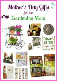 day gift ideas for the gardening mom