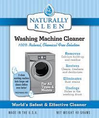 natural way to clean washing machine