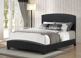 faux leather upholstered bed single bed