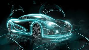 neon sports cars wallpapers top free