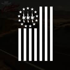 3 Percenter Flag Decal Outlaw Decals
