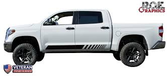 Truck Door Stripe Kit Decals Vinyl Stickers Bedside Set Fits Toyota T Roe Graphics And Apparel