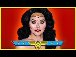 wonder woman ic inspired makeup