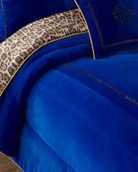 blue velvet bedding neiman marcus