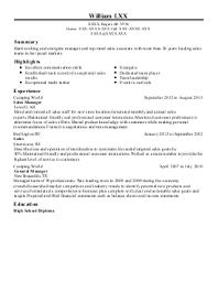 resume sle beauty resumepanion