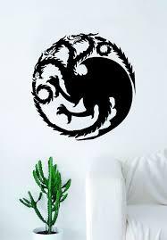 Van Vinyl Decal Sticker Wolf Car House Stark Game Of Thrones Wall