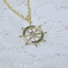 fans of sailing jewelry 14k solid
