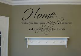 Home Friends Family Wall Decals Trading Phrases