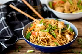 Throw-It-All-In Chicken Chow Mein