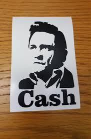 On Sale Johnny Cash Vinyl Decal Johnny Cash Yeti Ozark Etsy