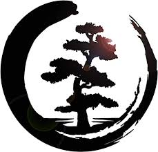 Amazon Com Vinyl Wall Decal Enso Tree Of Life Zen Circle Buddhism Yoga Stickers Large Decor 1204ig Black Arts Crafts Sewing