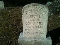 Jewell West (1907-1908) - Find A Grave Memorial