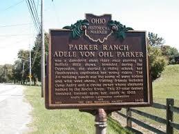 Parker Ranch Historical Marker